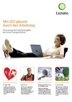 Lunato Produktfolder - Ergonomie und Gesundheit